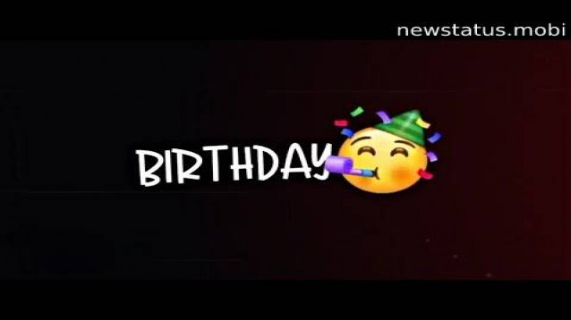 Download Happy Birthday Video For Whatsapp