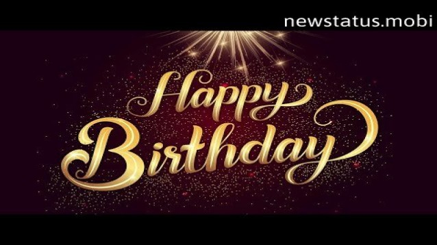 Happy Bday Video Free Download