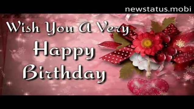 Happy Birthday Wishes Video Download
